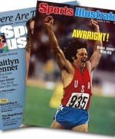 Bruce Jenner Caitlyn Jenner Sports Illustrated covers