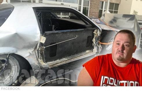 Derek Travis Silver Unit Camaro Crash