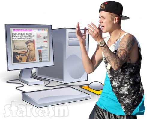 Justin Bieber attacks Hollywood Life website