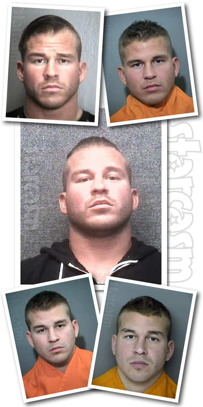 How many times has Nathan Griffith been arrested? See his mug shot photos