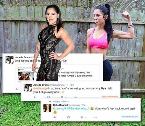 Jenelle Evans Dalis Connell Twitter feud