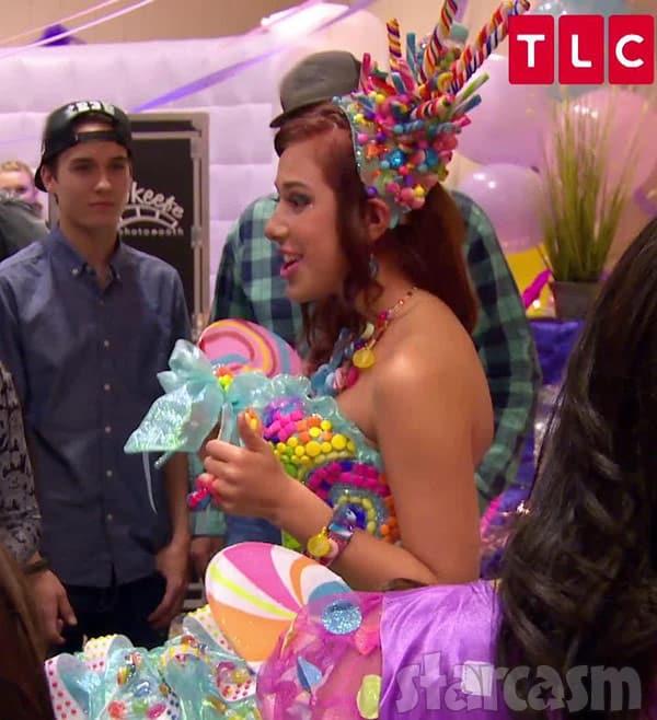 MBFAGW My Big Fat American Gypsy Wedding Season 5 Candy Dress