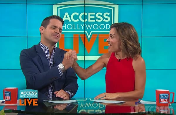 Access Hollywood Dave Kit high five