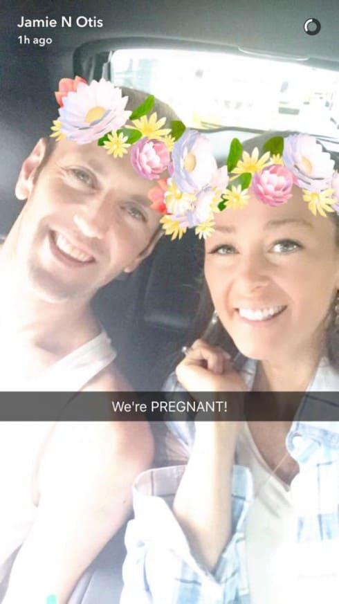 Jamie Otis Pregnant Snapchat