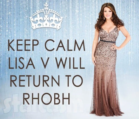 Lisa Vanderpump keep calm