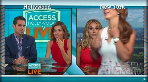 Teresa Giudice Access Hollywood interview