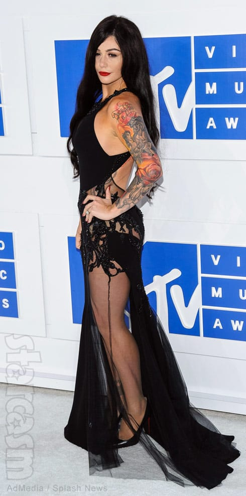 PHOTOS JWoww after VMAs red carpet: 'I have never felt ...