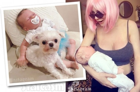 Courtney Stodden reborn baby photos