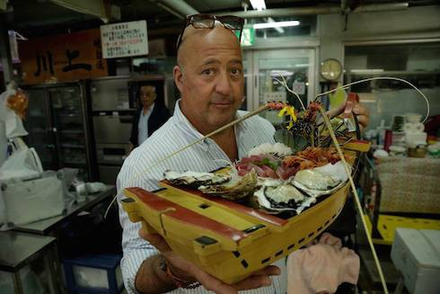 Does Andrew Zimmern ever get sick 4