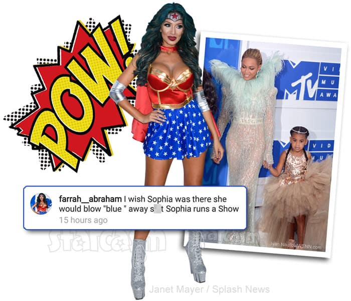 Beyhive Attacks! Farrah Backtracks After Slamming Beyonce's Daughter: 'No Hate Here!'