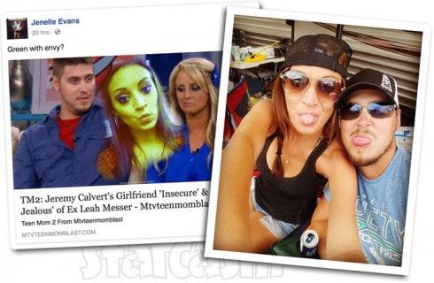 Jeremy Calvert's girlfriend Brooke Wehr jealous of Leah Messer?