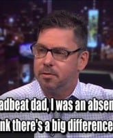 Matt Baier deadbeat dad quote on Dr. Drew