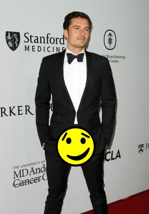 Orlando Bloom BTN
