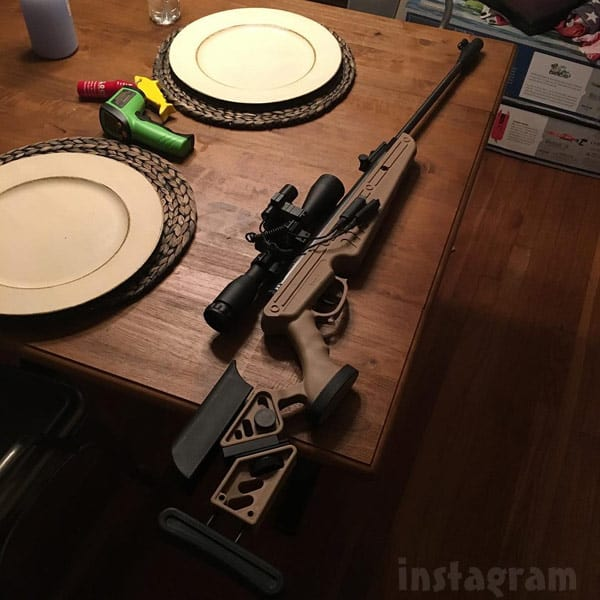 Ryan Edwards gun photo