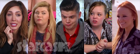 Teen Mom OG cast with Tyler