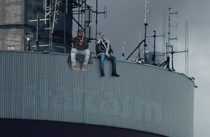 Drake Kanye Views From the 6