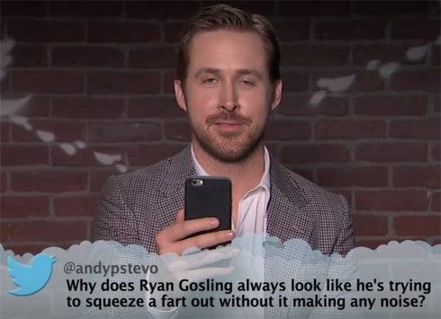 RyanGoslingMeanTweet