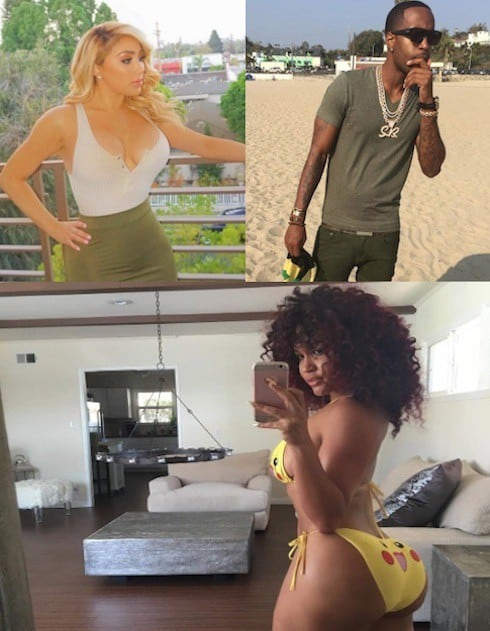 Safaree Samuels girlfriend 1