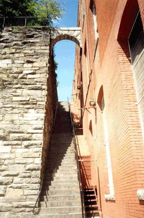 Where are The Exorcist steps in Georgetown 3