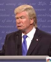 Alec Baldwin as Donald Trump on SNL