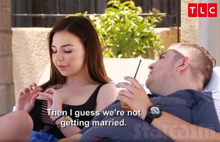 Are Jorge and Anfisa married?