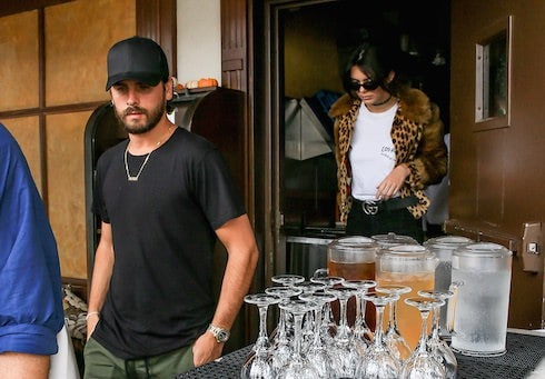 Kendall Jenner's family outing with Scott Disick