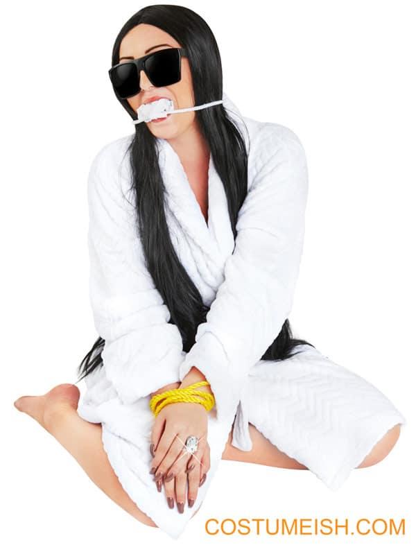 Kim Kardashian Paris robbery Halloween costume