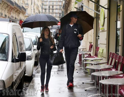 Larsa and Scottie Pippen together in Paris