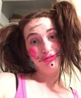 Gypsy Sisters Mellie Stanley clown photo