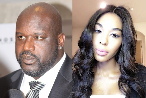 Moniece Slaughter and Shaq 1