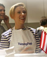 Scarlett Johansson Popcorn Shop