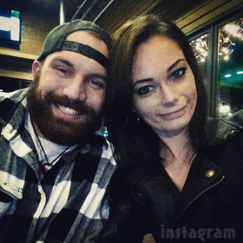 Adam Lind and Stasia Huber still together