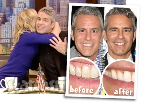 Andy Cohen skin cancer Live With Kelly Ripa