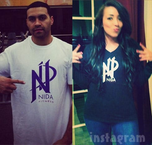 Apollo Nida and fiancee Shereen Almufti