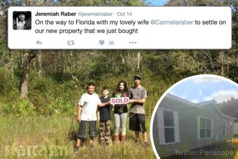 Carmela and Jeremiah Raber move to Florida