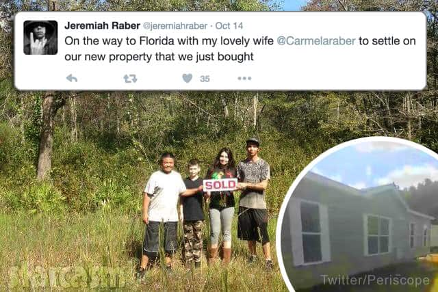 Carmela and Jeremiah Raber move to Florida