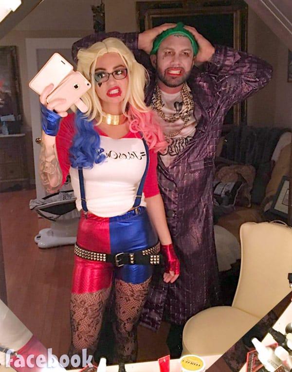 JWoww Harley Quinn costume