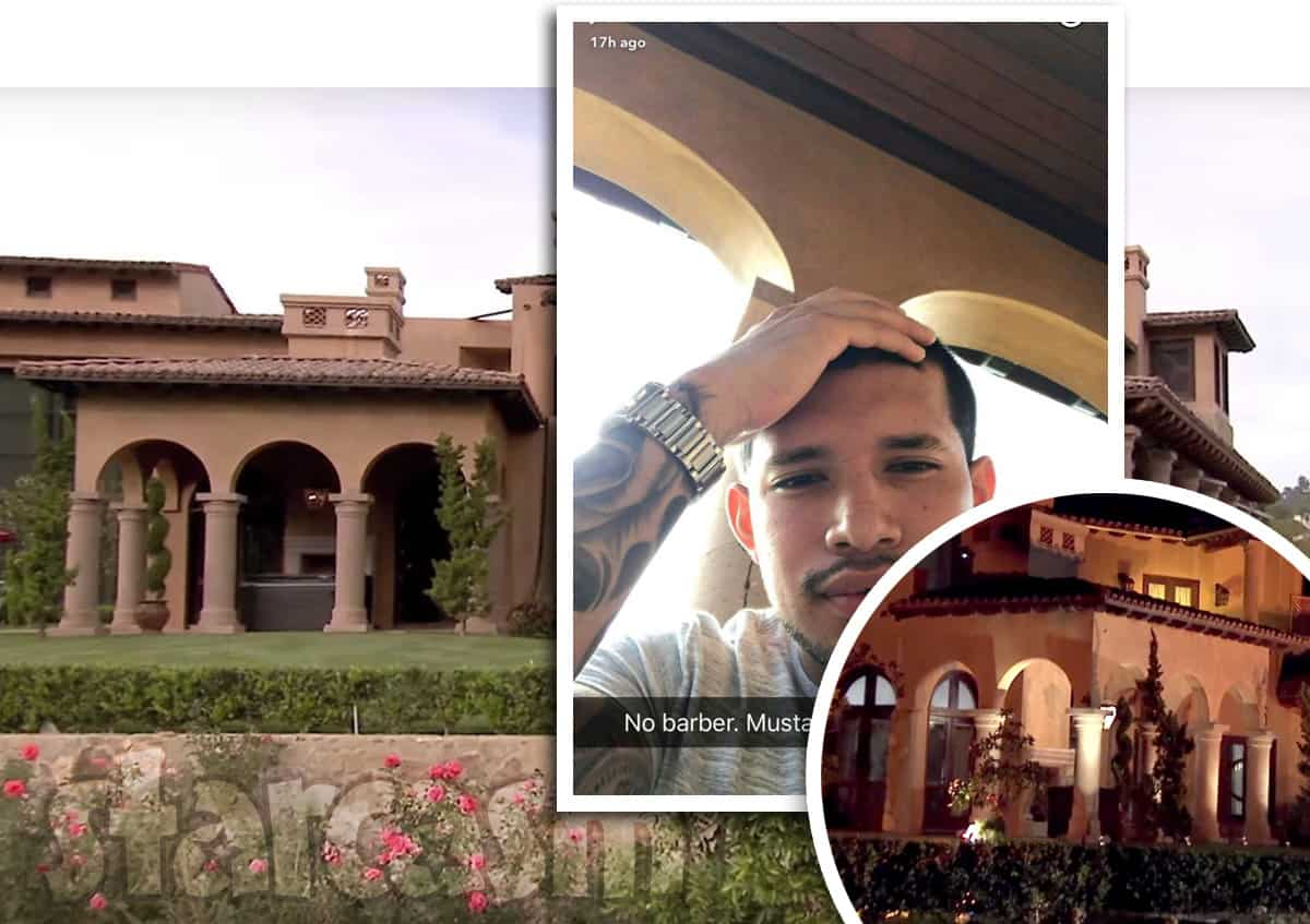 Javi Marroquin filming Marriage Boot Camp Reality Stars