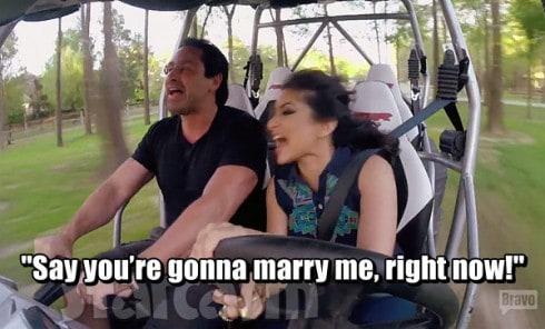 Married To Medicine Houston Monica Patel engaged to Imag Khalil?