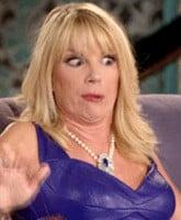 Ramona Singer funny face