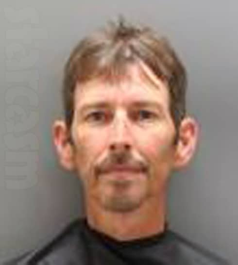 Randy Chrisley mug shot photo for candy shoplifting arrest