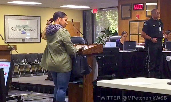 Sheree Whitfield in court