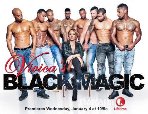 Lifetime Vivica's Black Magic cast photo