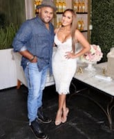 Adrienne Bailon marries Israel Houghton in Paris