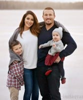 Bristol Paln Dakota Meyer and children family photo