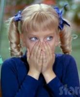 Cindy Brady shocked