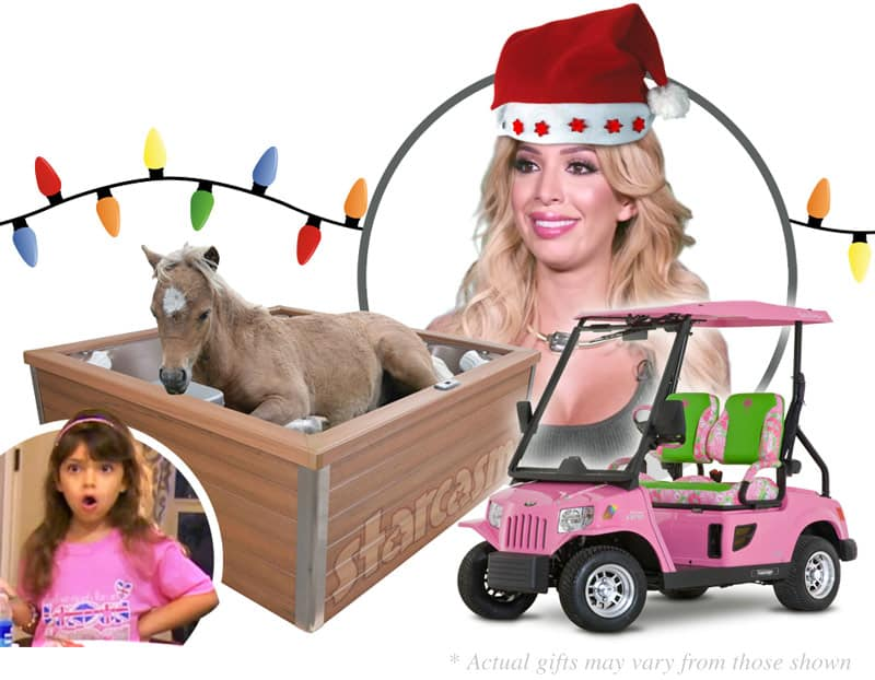 Farrah Abraham gets daughter Sophia a miniature horse golf cart and Jacuzzi for Christmas