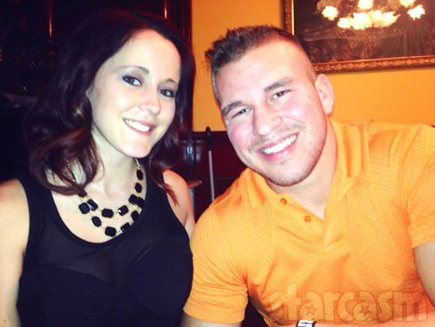 Jenelle Evans Nathan Griffith together