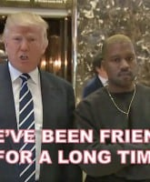 KanyeDonaldFriends
