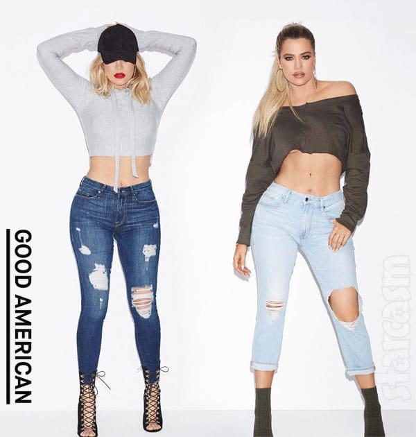 Khloe Kardashian Good American jeans